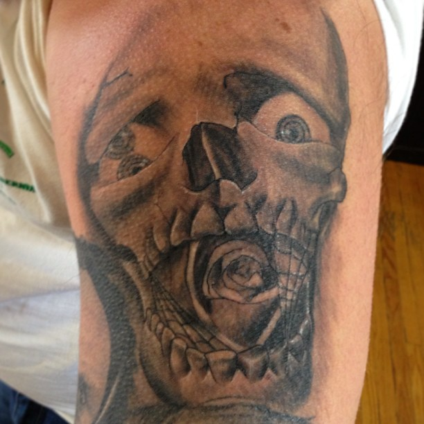 Healed-in-32-hours-Skull-tattoo-by-Drew-at-Double-Deez-tattoos-in-west-Chester-tattoo-tattoos-tat2s-1