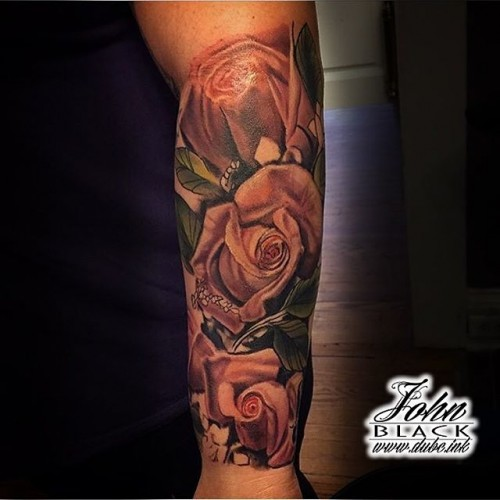 Tattoo by John Black at Double Deez Tattoos in West Chester Specializing in Color, and illustrative Tattoos