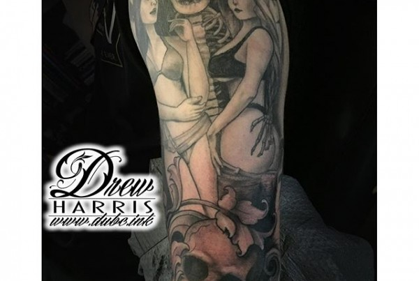 More-work-on-the-mans-ruin-tattoo-by-Drew-Harris-at-Double-Deez-Tattoos-in-West-Chester-@dr.drewtat2