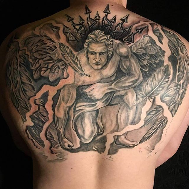 Arch-angel-back-tattoo-by-Jason-Nicholson-here-at-Double-Deez-Tattoos-in-West-Chester