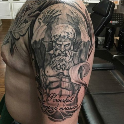 Atlas-the-Titan-tattoo-by-Jason-Nicholson-at-Double-Deez-Tattoos-in-West-Chester-greekgodtattoo-gree